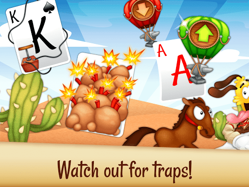 Solitaire Buddies - Tri-Peaks Card Game - screenshot