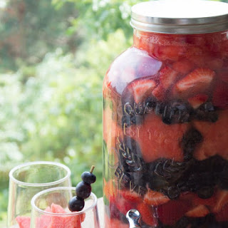 Fourth of July Sangria.