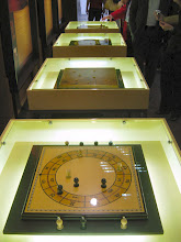 Photo: Mathematical games on exhibition.