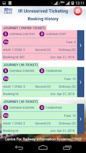 UTS on mobile app – Indian Railways 6