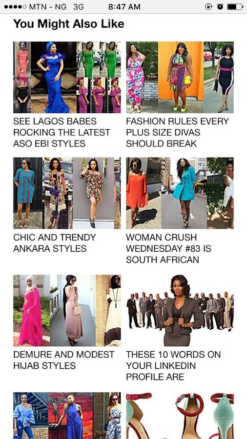Latest Fashion Styles Africa- screenshot
