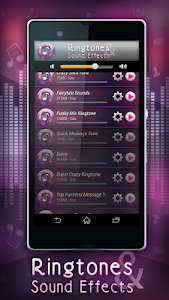 Ringtones and Sound Effects screenshot 2