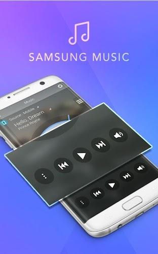 Player Style Samsung Music Android App Screenshot