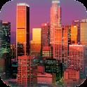 Los Angeles at Night Live icon