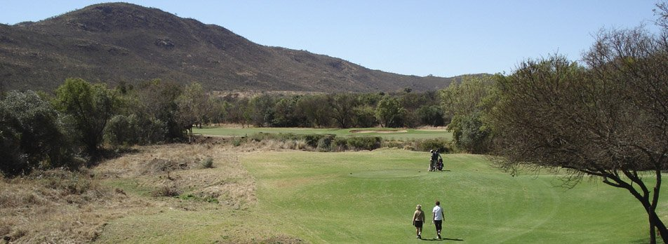 golf course at Lost City