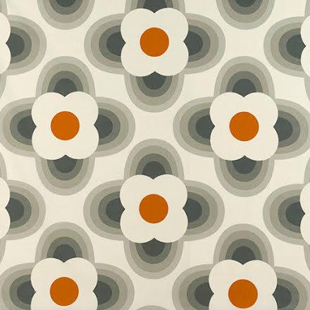 Striped Petal av Orla Kiely - orange