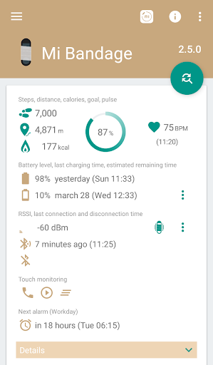 Mi Bandage - Mi Band & Amazfit support 3.10.0 screenshots 2