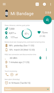 Mi Bandage - Mi Band 2 & Amazfit support- screenshot thumbnail