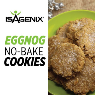 Eggnog No-Bake Cookie