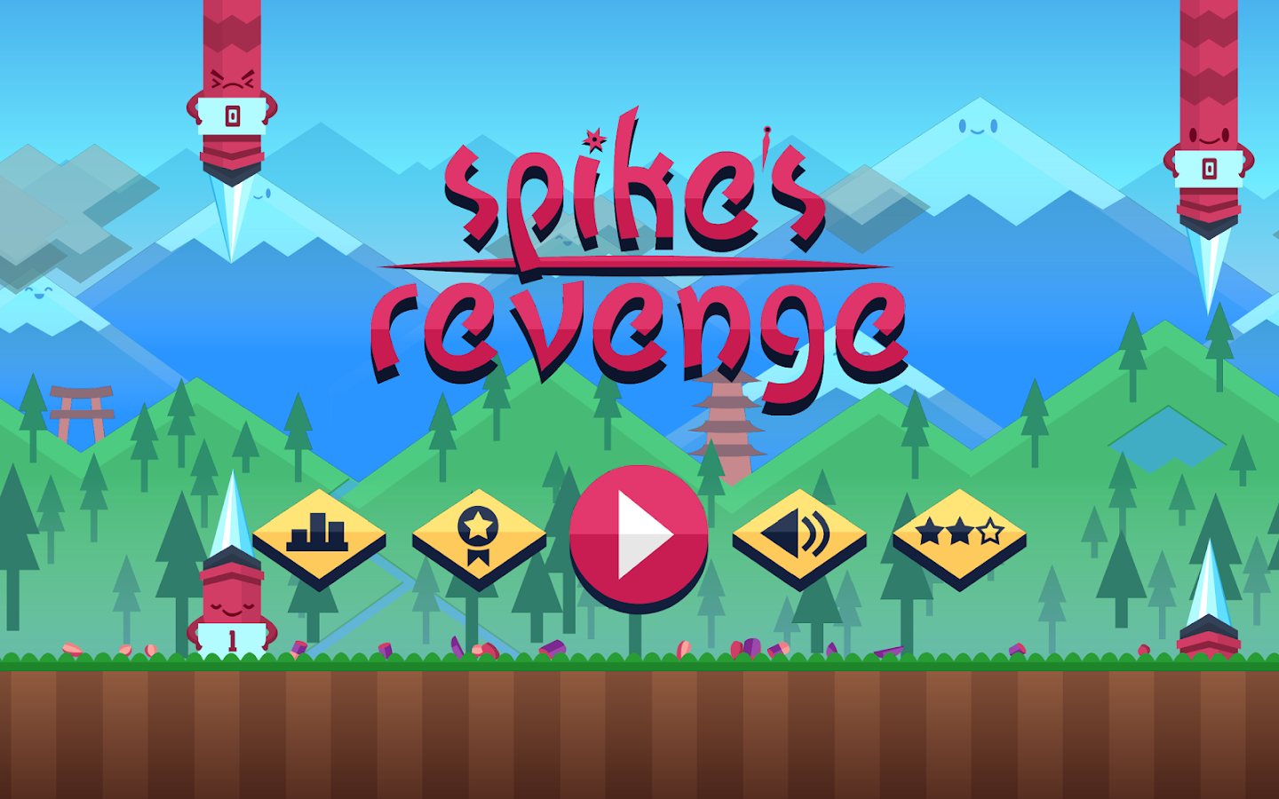 Spike's Revenge- screenshot