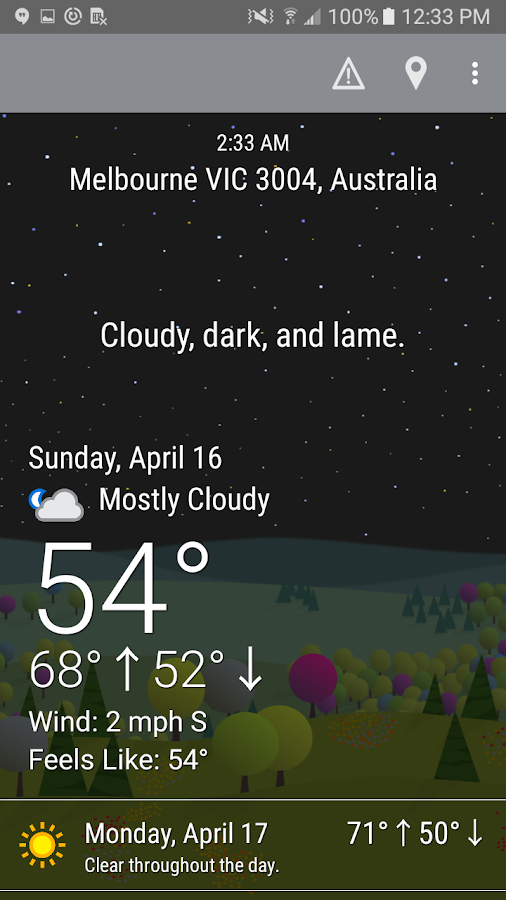 What The Forecast?!!- screenshot