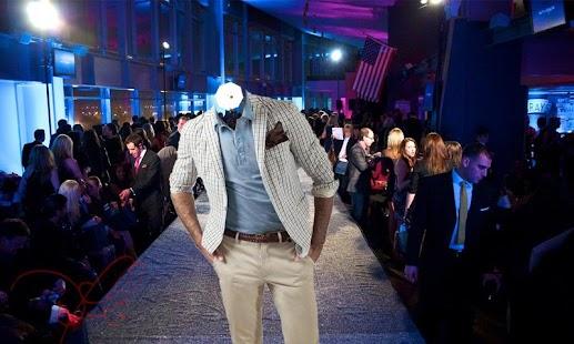 Fashion Model Suit Photo Maker screenshot