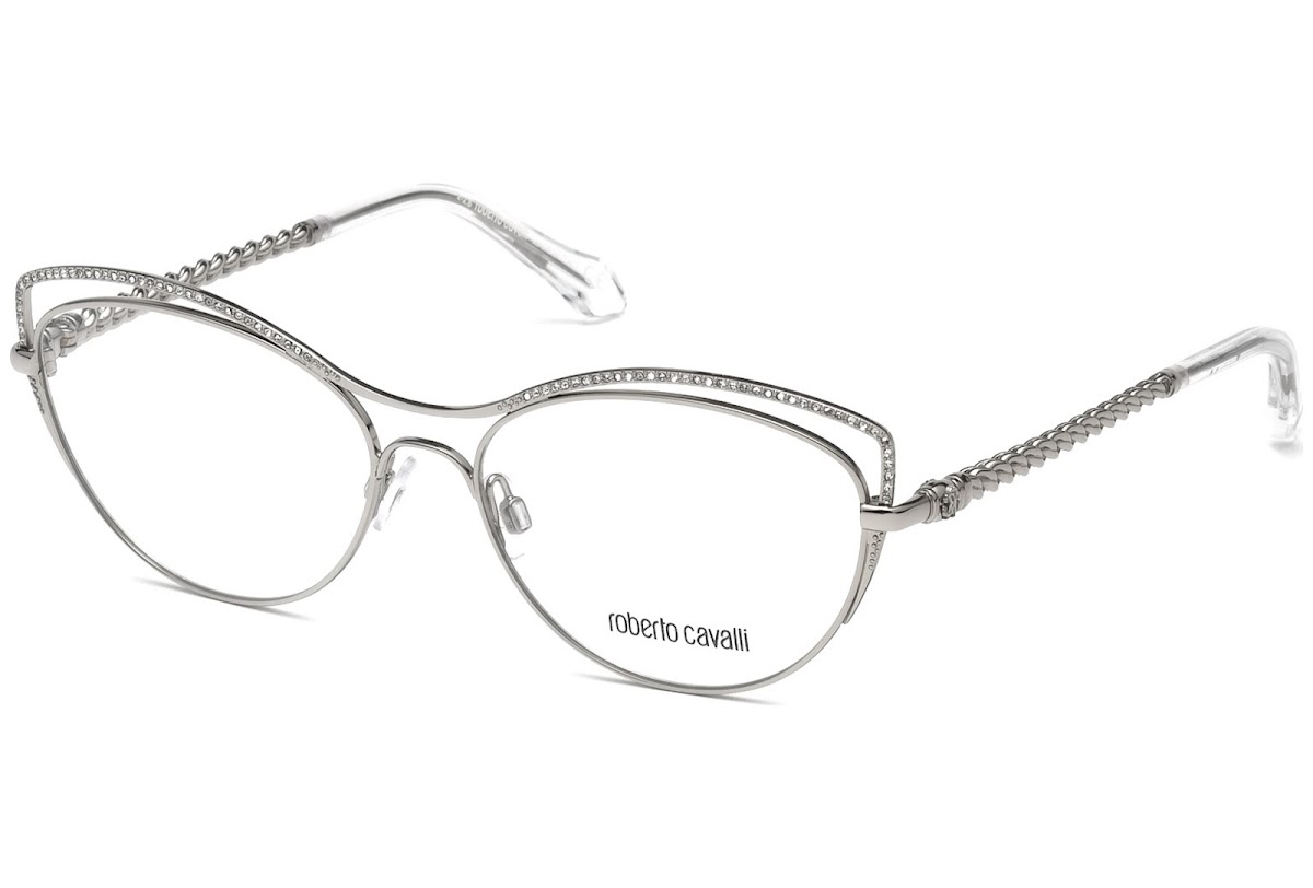 Buy Roberto Cavalli Crespina RC5041 C55 016 (shiny palladium ...
