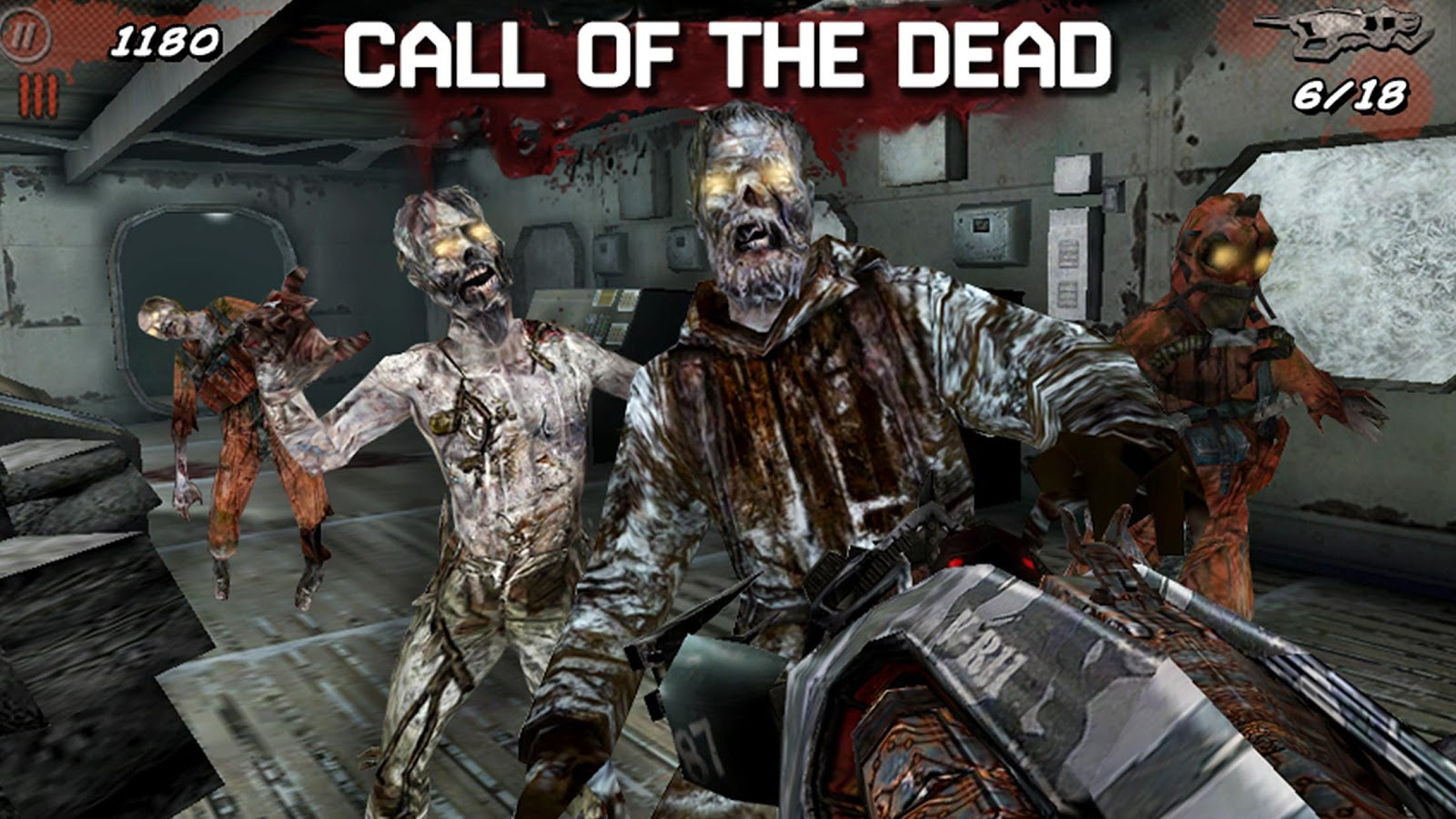 Call of Duty:Black Ops Zombies: captura de pantalla