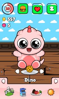Baby Dino 🐾 Virtual Pet Game