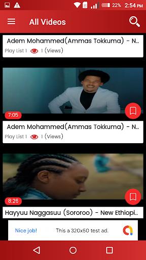 Oromo Music Video - Sirba Afaan Oromoo App Report on Mobile Action