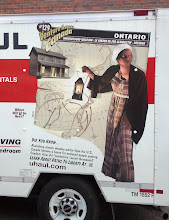 Photo: side of the Uhaul truck. thought it was interesting