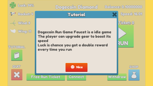 Dogecoin Run: Game Faucet (Discontinued) by ToHo 3D (Google Play