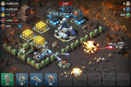 Battle for the Galaxy apk screenshot