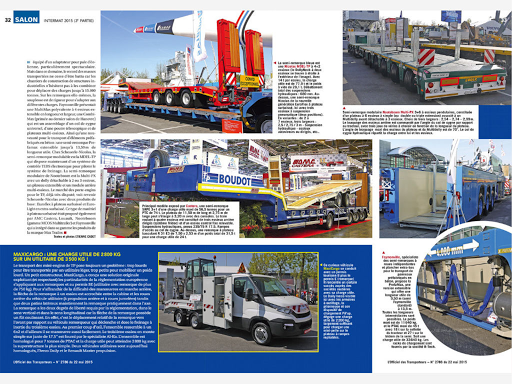 L'Officiel des Transporteurs - screenshot