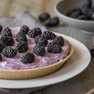 No Bake Blackberry Pie