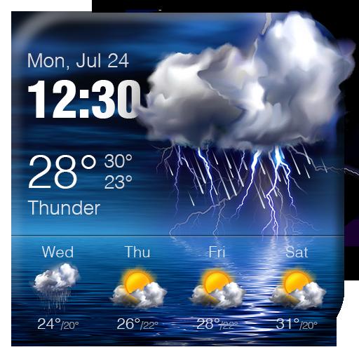 Detailed Weather Info Weather Widget