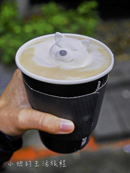 雨田先生手沖飲品吧,部長鮮奶茶,柴犬棉花糖泡在奶茶裡太療癒了!!(菜單)