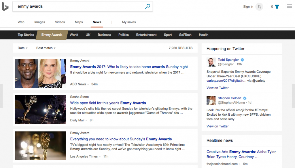 Tổng quát chung về những điểm nổi bật của Bing