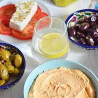 Tirokfateri – Greek Spicy Feta Cheese Dip.