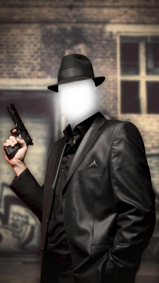 неизменному сделать фотомонтаж гангстер интересное