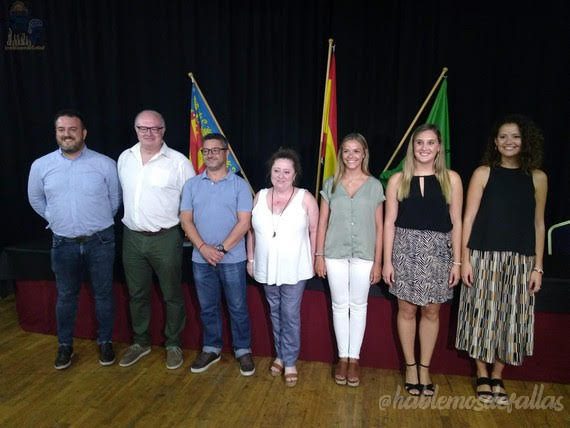 Jurados Cortes de Honor y Falleras Mayor Infantil de Valencia 2020