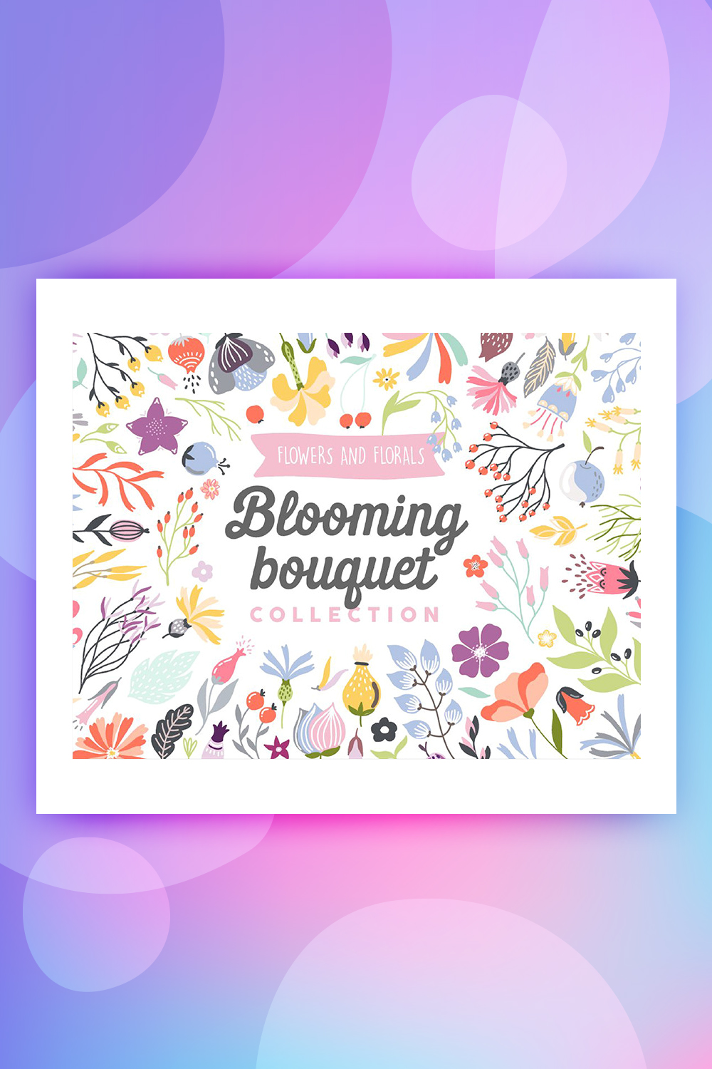 Blooming Bouquet Collection Illustration