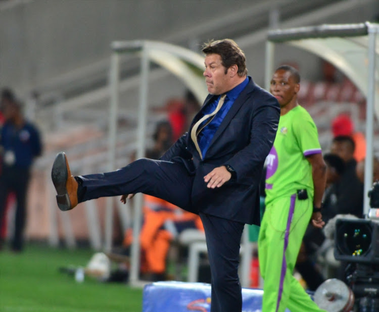 Luc Eymael is on his way home to Belgium after his move to Chippa United failed.