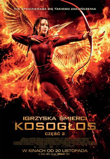 Polski plakat filmu 'Igrzyska Śmierci: Kosogłos. Część 2'