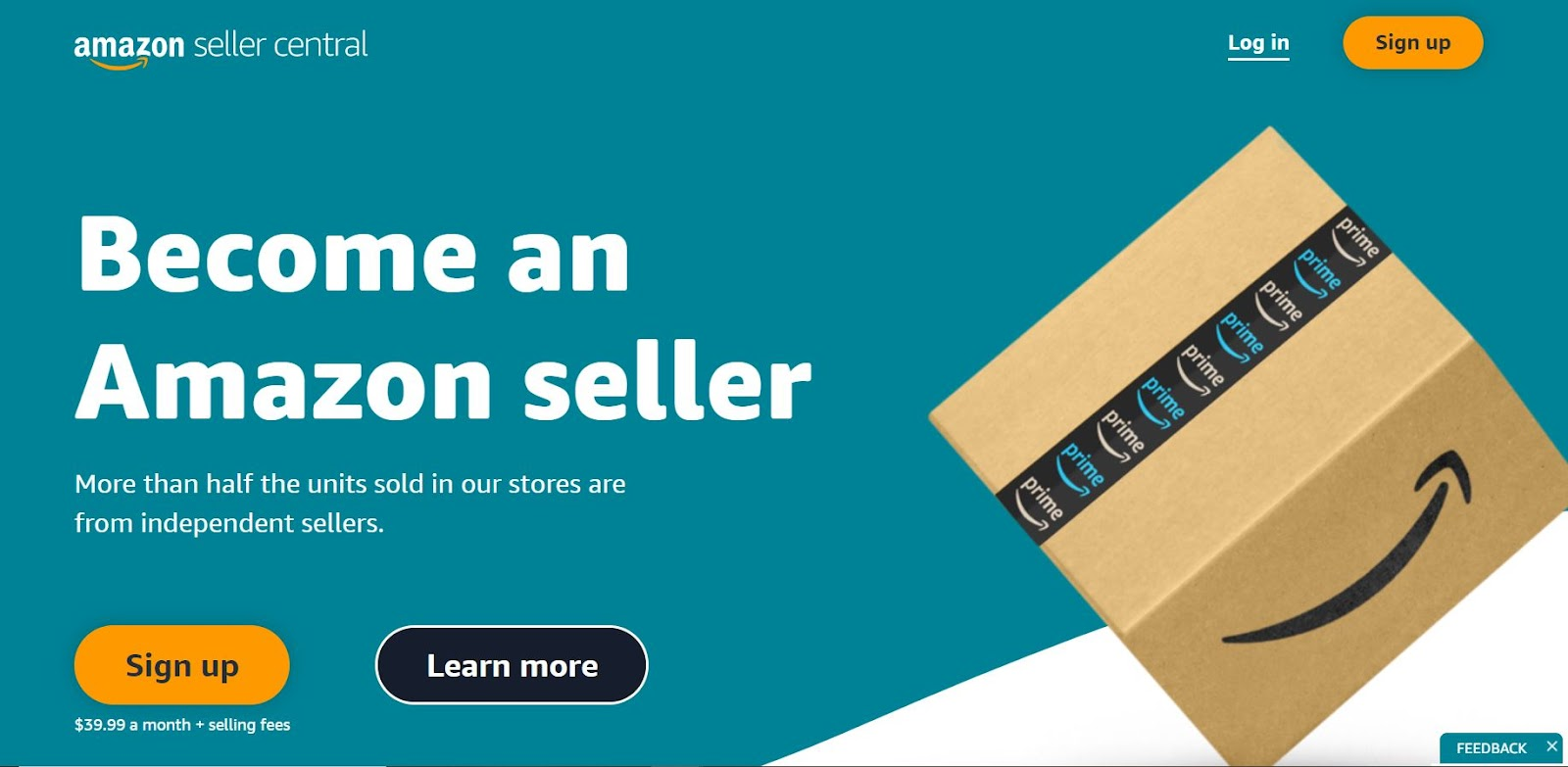Amazon seller site