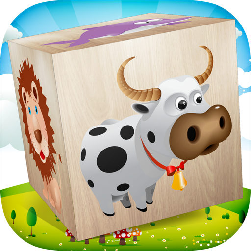 Animals Blocks Puzzle for kids (game)