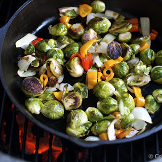 Grilled Brussel Sprouts? These Ain't Your Momma's Sprouts!.