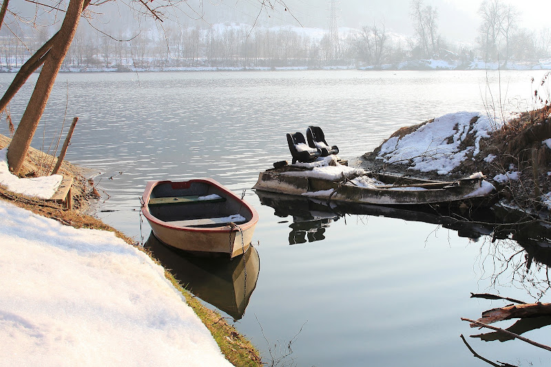 L'imbarcadero d'inverno di giacominet