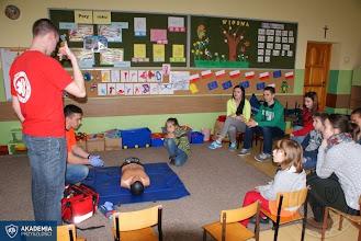 Photo: Kurs pierwszej pomocy w ramach Akademii Przyszłości (12.04.2014)