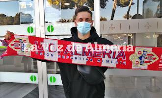 Brian Rodríguez ya está en Almería