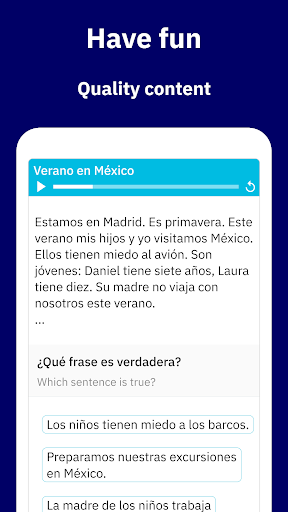 Learn Spanish - Español screenshot 3
