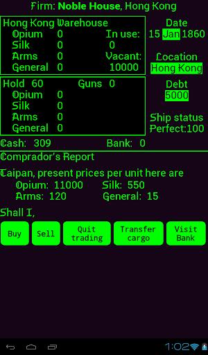 Taipan screenshot 7