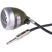 Shure 520DX Green bullet munspelsmikrofon