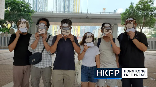 Hong Kong women who 'published seditious children's books about sheep' remanded in custody