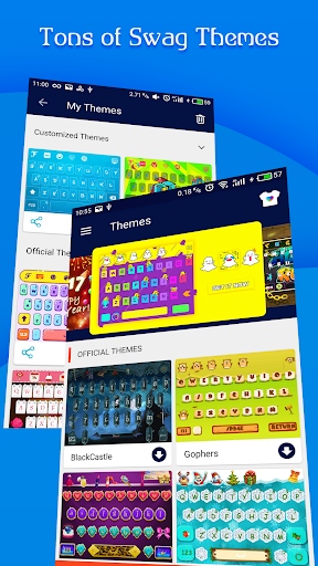 FancyKey Keyboard - Cool Fonts, Emoji, GIF,Sticker  screenshots 4