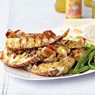 Baja-Style Grilled Rock Lobster Tails.