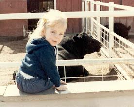 Photo: Sweet irl at the downtown farm complex, many years ago in RIverside.