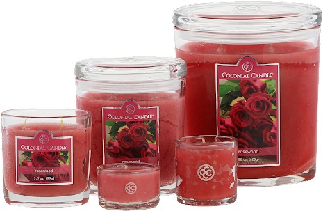 Colonial Candle - Rosewood
