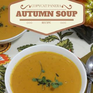 Copycat Panera Autumn Soup.