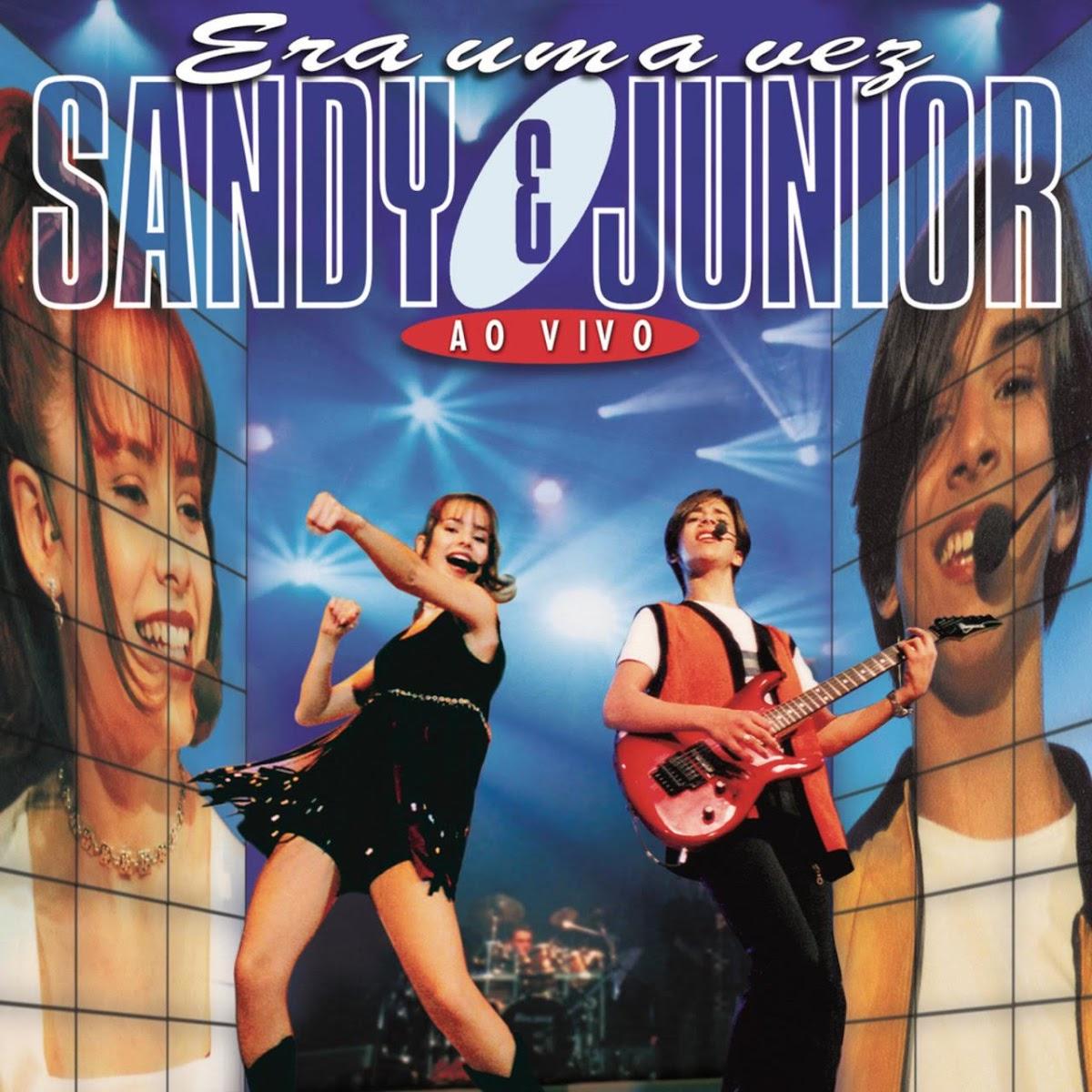 CD - Era uma vez - Sandy & Junior - Ao Vivo